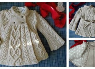 Elizabeth Coat Free Knitting Pattern