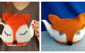 Fox Tea Cosy Free Knitting Pattern