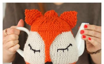 Fox Tea Cosy Free Knitting Pattern