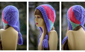 Lodge Bunny Bonnet Free Knitting Pattern