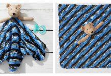 Teddy Bear Lovey Free Knitting Pattern