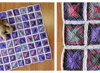 Window Paint Throw FREE Knitting Pattern
