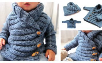 Baby Jacket Free Knitting Pattern