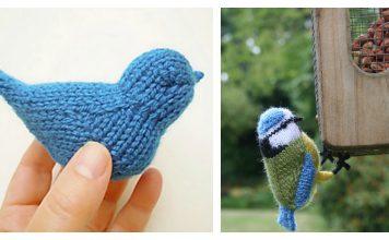 Blue Bird Free Knitting Pattern