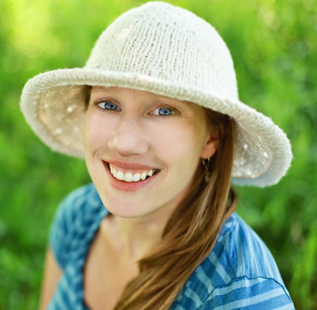Cotton Sun Hat Free Knitting Pattern