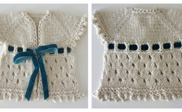 Dirghagama Baby Cardigan Free Knitting Pattern