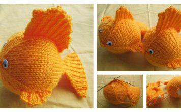 Goldfish Free Knitting Pattern