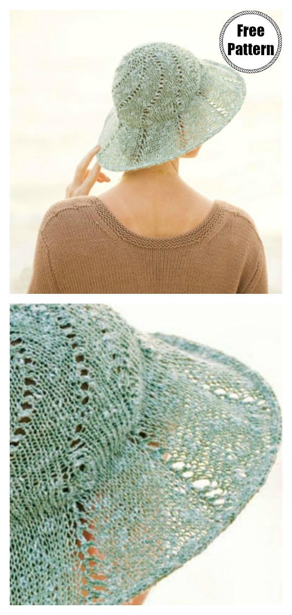 Lightweight Sunhat Free Knitting Pattern
