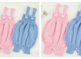 Playtime Baby Onesies Free Knitting Pattern