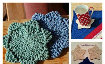 Star Coaster Free Knitting Pattern