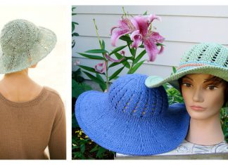 Sunny Summer Hat Free Knitting Pattern