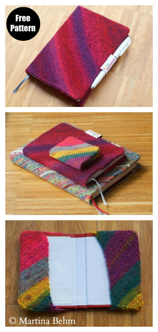 Book Cover Free Knitting Pattern