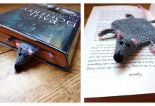 Flat Rat Bookmark Free Knitting Pattern