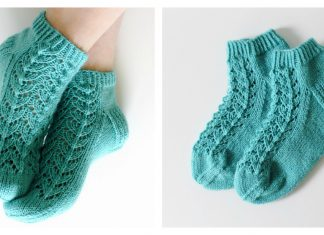 Midsummer Socks Free Knitting Pattern