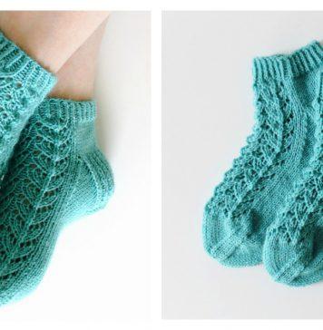 Midsummer Socks Free Knitting Pattern