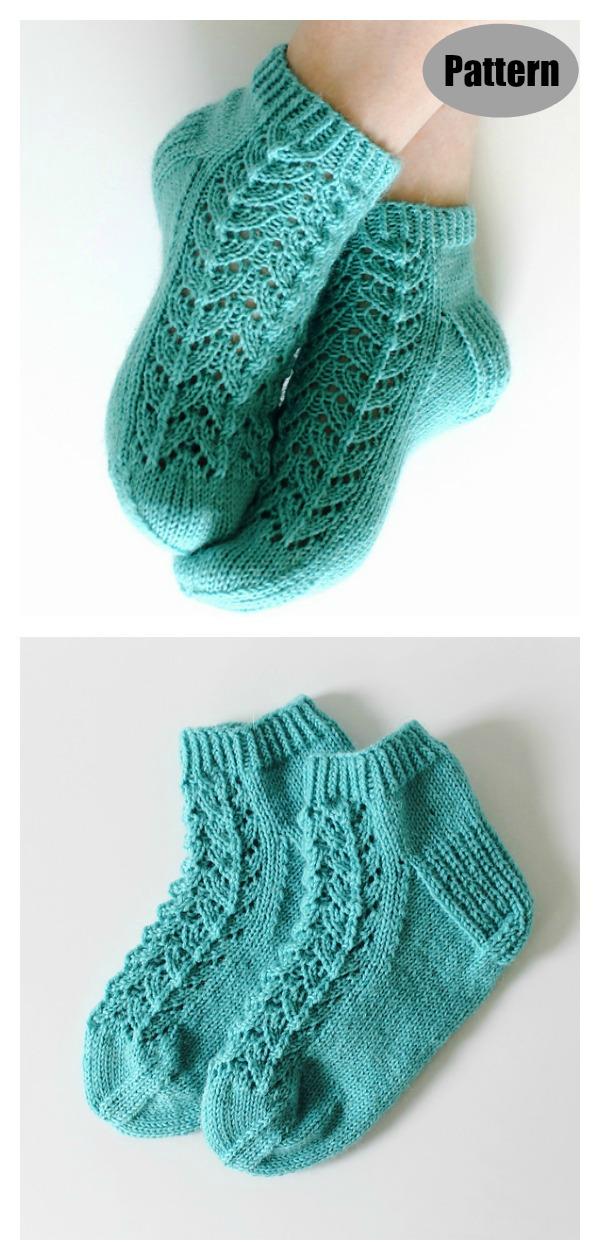 Midsummer Socks Knitting Pattern