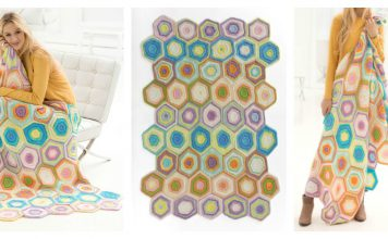 Charleston Garden Blanket Free Knitting Pattern