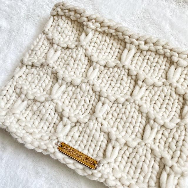 Honeycomb Cowl Free Knitting Pattern