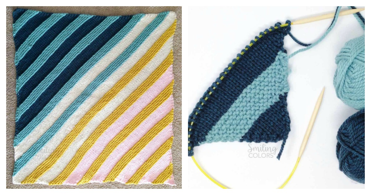 Corner To Corner Baby Blanket Free Knitting Pattern
