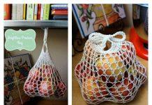 Weightless Mesh Market Bag Free Knitting Pattern