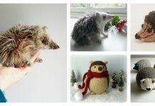 Amigurumi Hedgehog Free Knitting Patterns