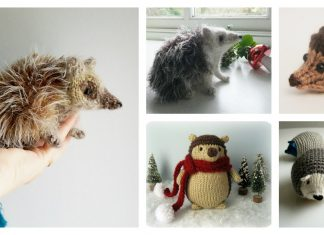 Amigurumi Hedgehog Free Knitting Patterns