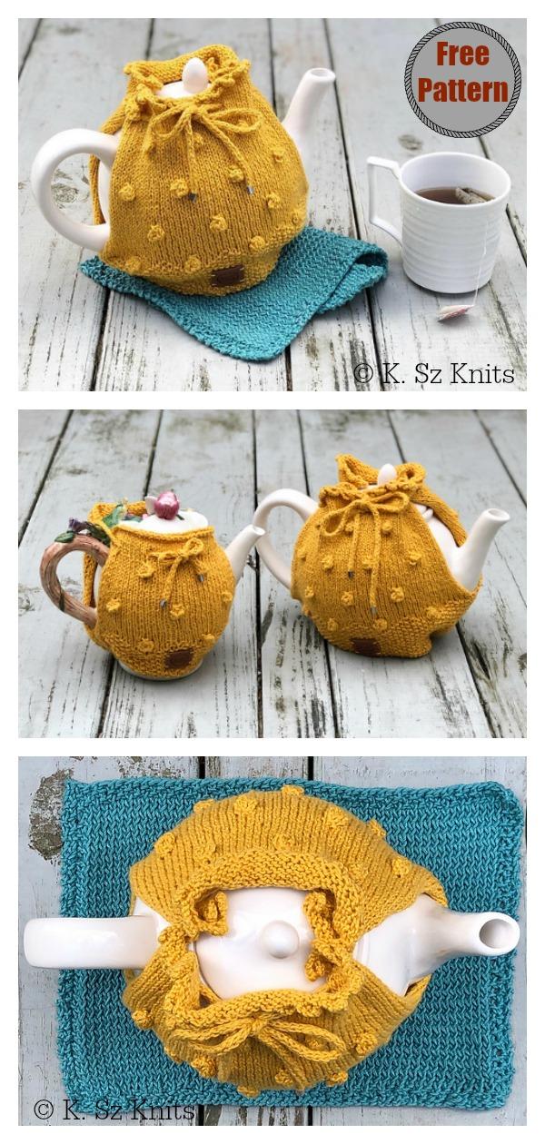 Bayberry Tea Cozy Free Knitting Pattern