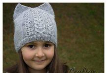 Cat Ear Hat Free Knitting Pattern