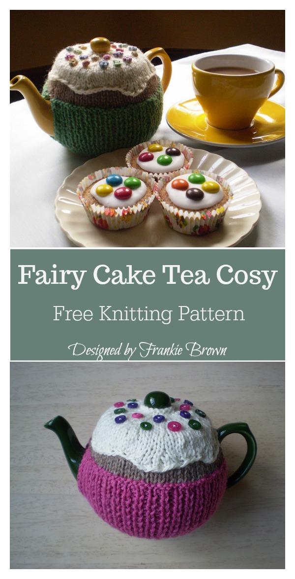 Fairy Cake Tea Cosy Free Knitting Pattern