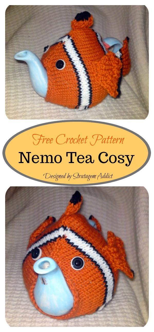 Nemo Tea Cosy Free Knitting Pattern