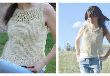 Summer Vacation Top Free Knitting Pattern