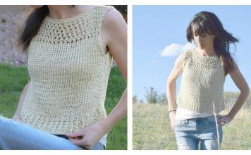 Summer Vacation Top Free Knitting Pattern