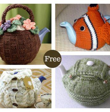 Tea Cozy Free Knitting Pattern