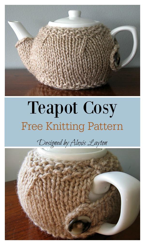Teapot Cosy Free Knitting Pattern