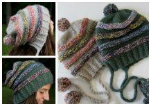 The Catbird Hat Free Knitting Pattern
