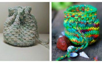 Treasure Pouch Free Knitting Pattern