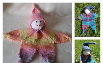 Adorable Little Doll Free Knitting Pattern