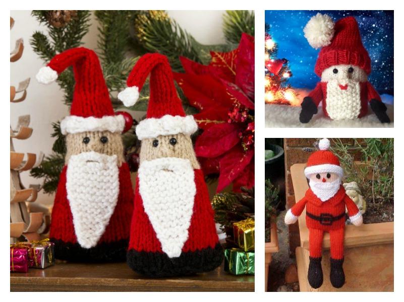 Christmas Santa Free Knitting Pattern