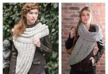 Cozy Cowl Vest Free Knitting Pattern