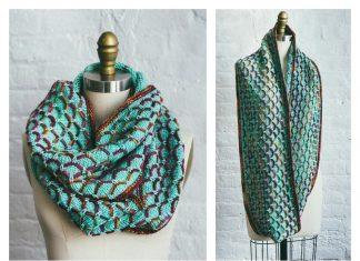Glorious Cincuenta Cowl Free Knitting Pattern