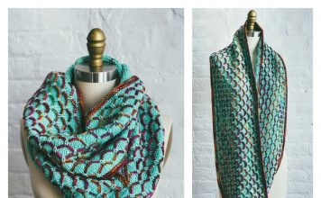 Glorious Cincuenta Cowl Free Knitting Pattern