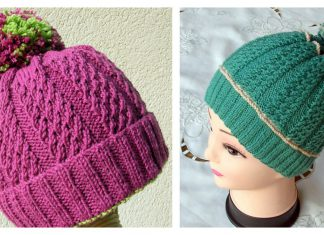 Huggy Hat Free Knitting Pattern