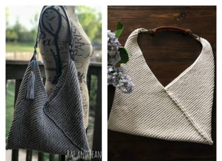 Japanese Tote Bag Free Knitting Pattern