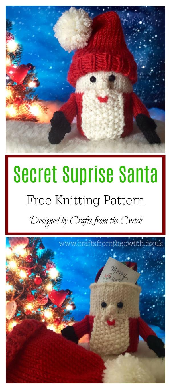 Secret Surprise Santa Free Knitting Pattern