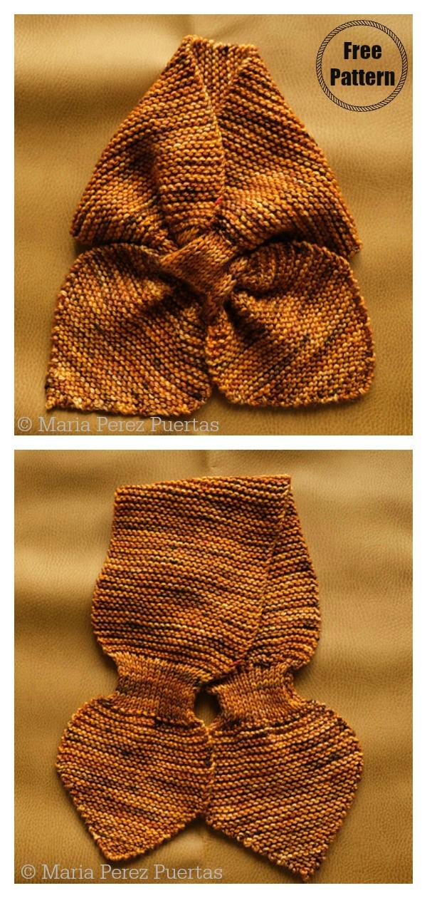 Sliding Scarf Free Knitting Pattern
