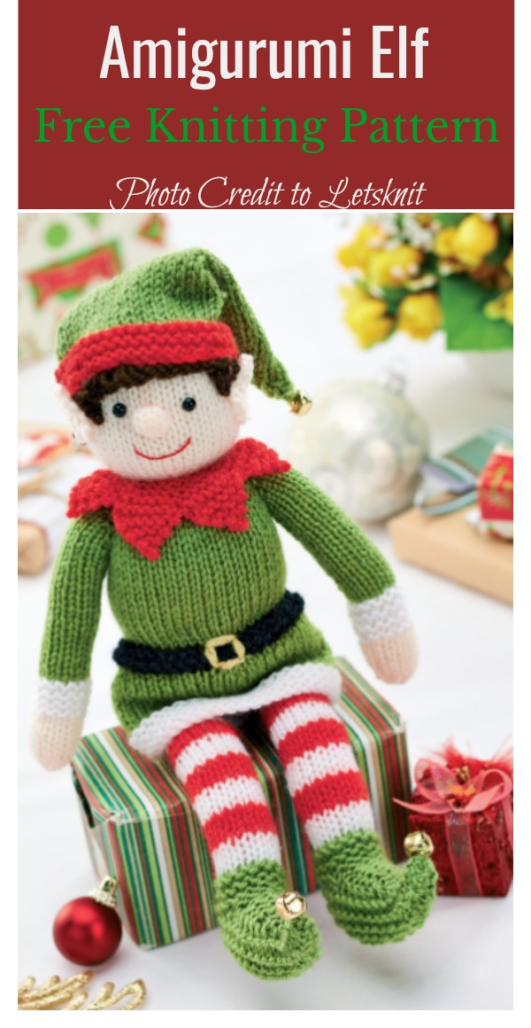 Amigurumi Elf Free Knitting Pattern