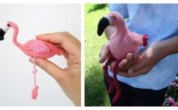 Amigurumi Flamingo Free Knitting Pattern