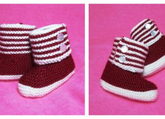Baby Booties Free Knitting Pattern