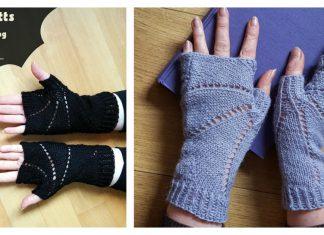 Bat Mitts Free Knitting Pattern