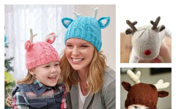 7b95fc7c038 shop free knitted baby reindeer hat pattern 3056e 290cf